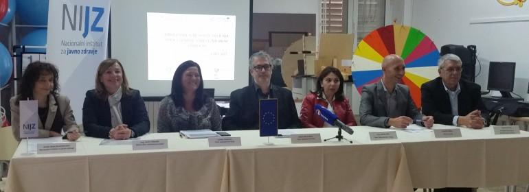 Novinarska konferenca Izola